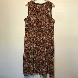 Jessica Howard Sleeveless MIDI Dress Sz 16 EUC